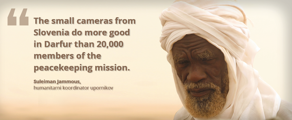 Suleiman Jamous, humanitarian coordinator of the Darfur rebels