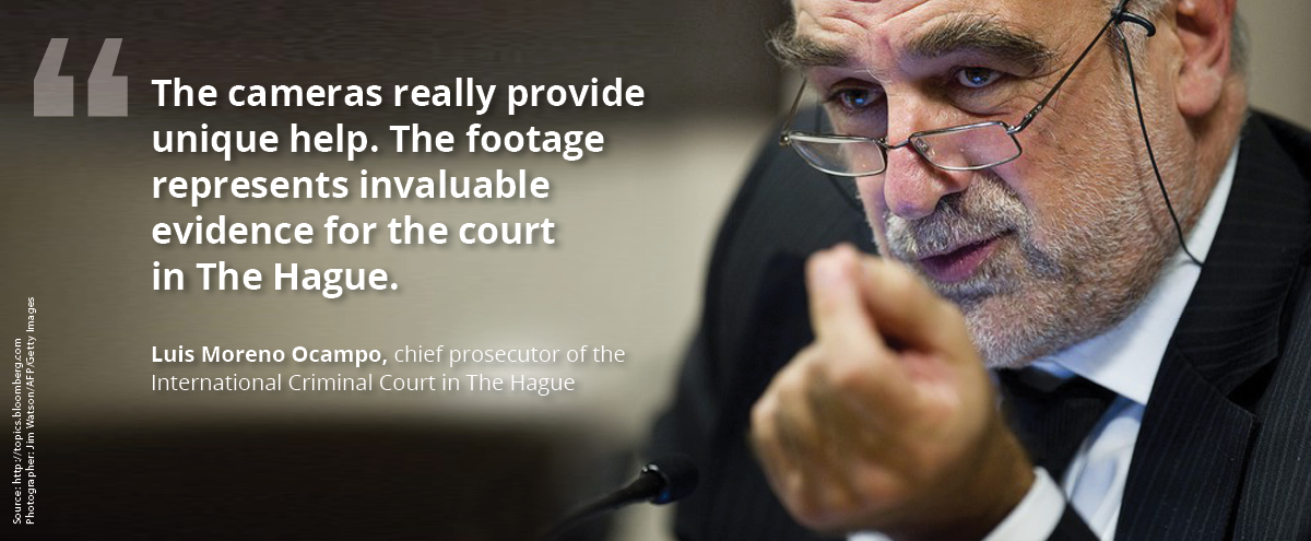 Luis Moreno Ocampo, chief prosecutor of the International Criminal Court in The Hague