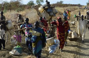 Refugee crises in Sudan - Report from the road: from Jamam to Al Fuj